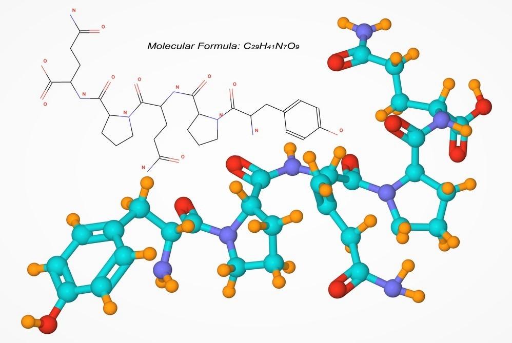 Соединение и химическая формула глютена