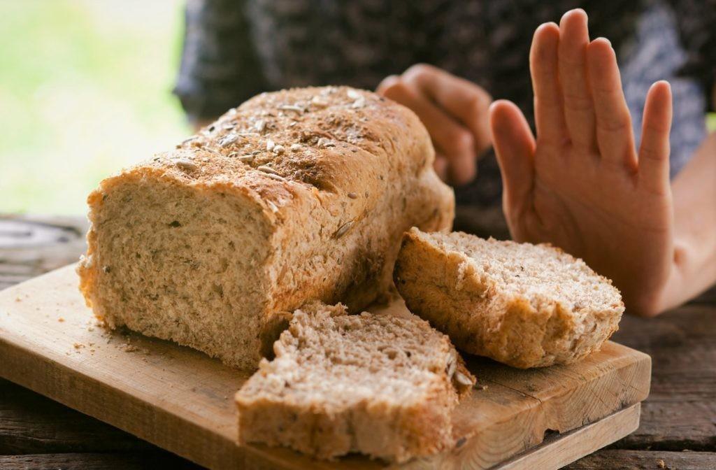Хлеб содержит большое количество глютена