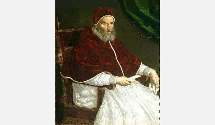 Папа Римский Григорий XIII ввёл григорианский календарь в 1582 году