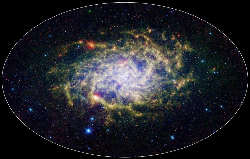 Вольное изображение границ Вселенной
