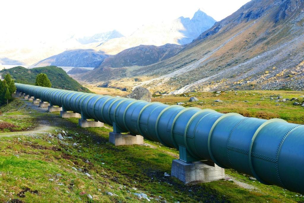 Передача природного газа - газопровод