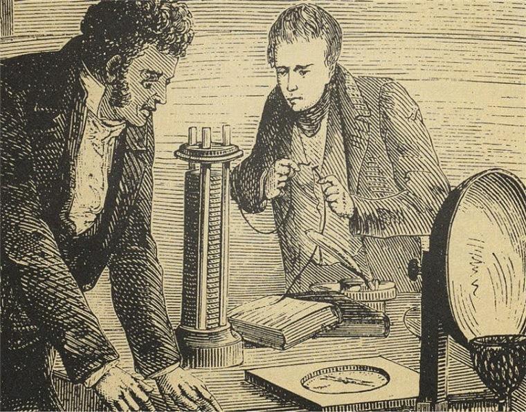 Ганс Кристиан Эрстед - открытие существования электромагнитных волн
