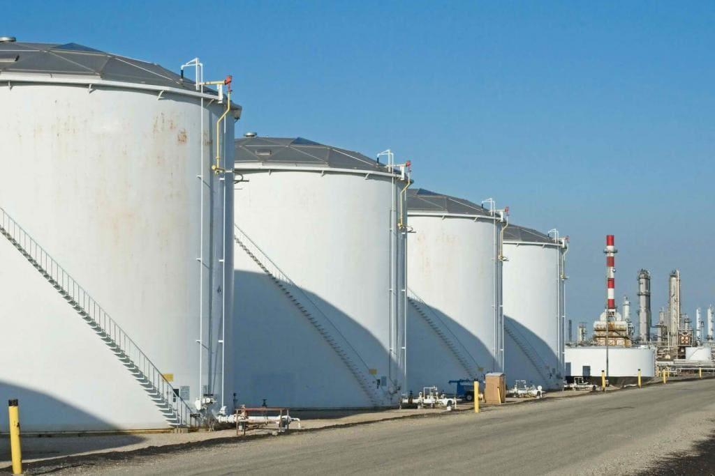 Хранение сырой нефти