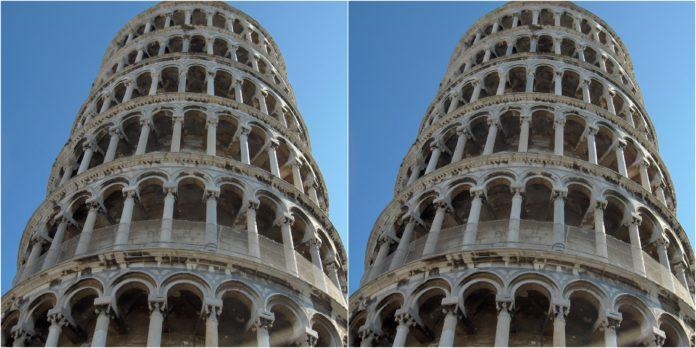 Как и почему возникает иллюзия наклонной башни?