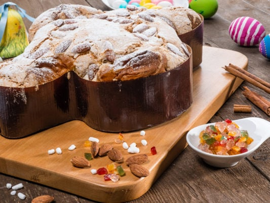 Итальянский пасхальный кекс «Коломбо»
