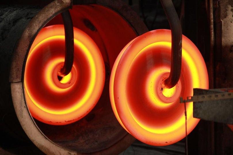 Изготовление железнодорожных колес