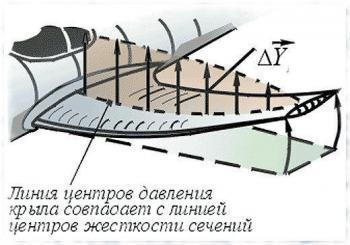 Амплитуда колебаний крыла