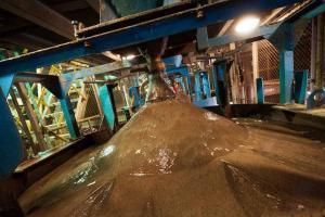 Извлечение алмазов из руды с помощью жировых установок