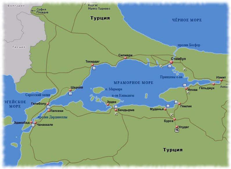 Почему Мраморное море так называется? Причины, описание и фото