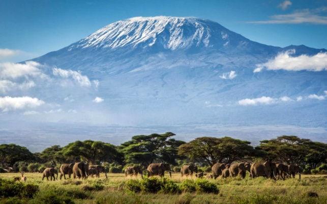 Вулкан - Килиманджаро