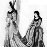 Кто носил в Средние Века «колокольни» на голове и кто ходил на платформе?