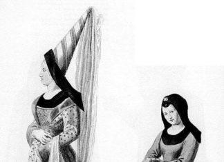 Головной убор средневековья