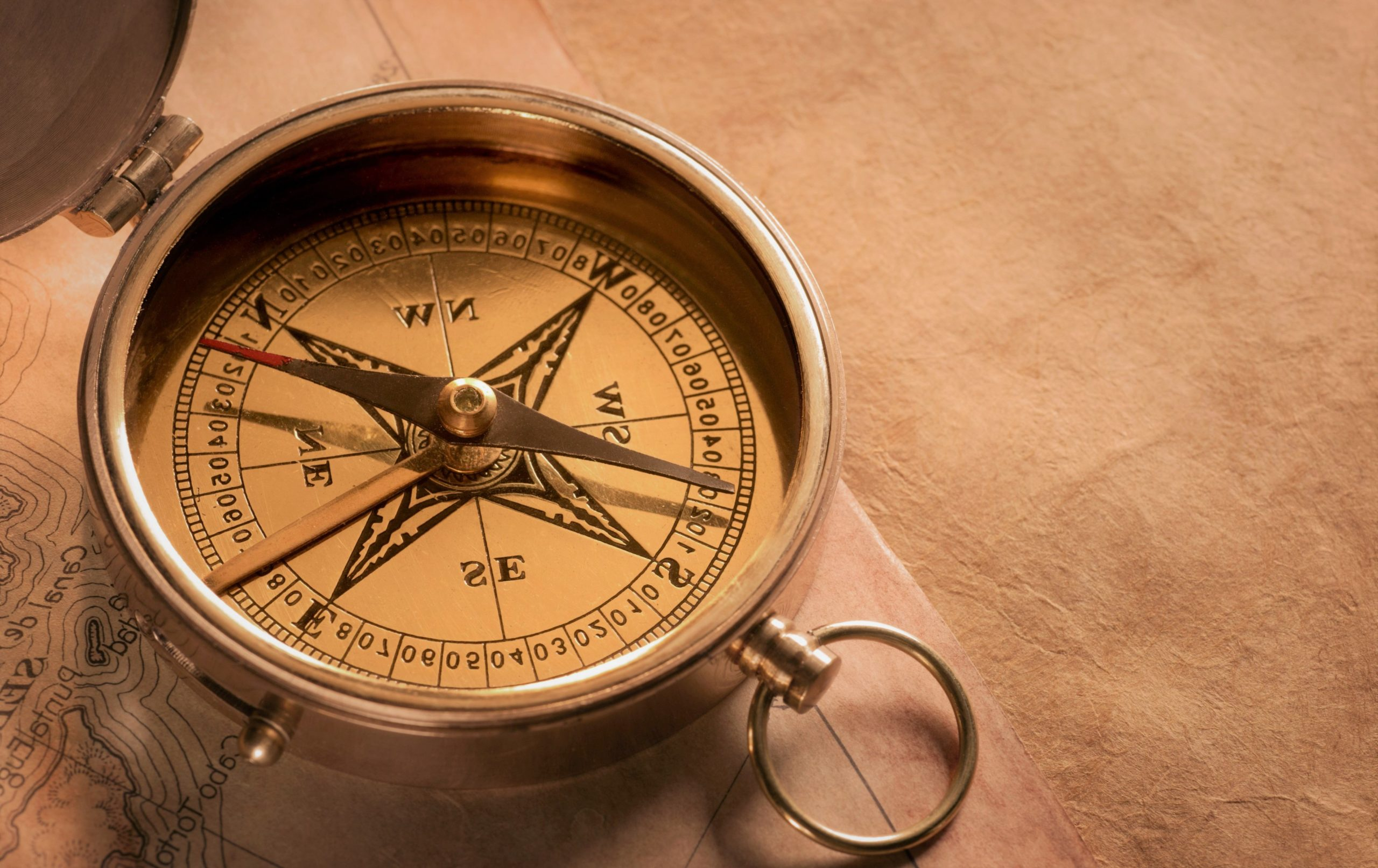 Работает ли компас в открытом космосе?