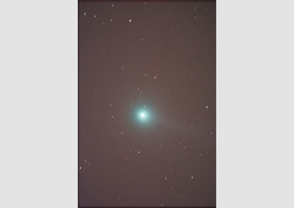 Комета почти без хвоста