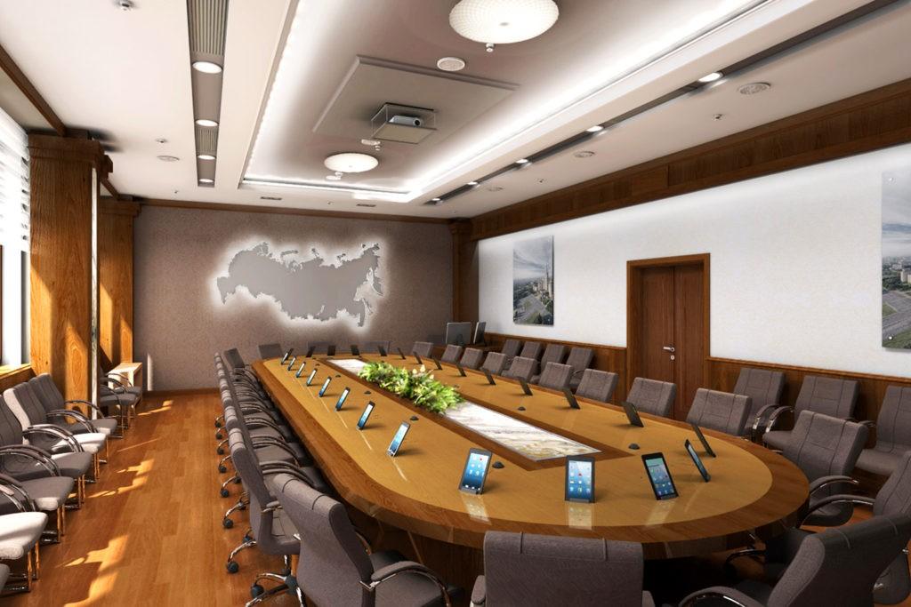 Эхоподавление особенно актуально для конференц-залов с использованием громкой связи