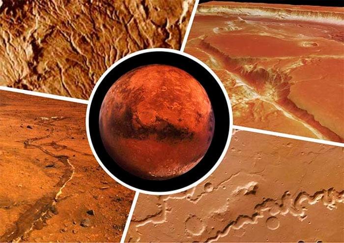 Каналы на Марсе