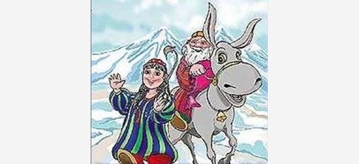 Узбекский Дед Мороз: Корбобо