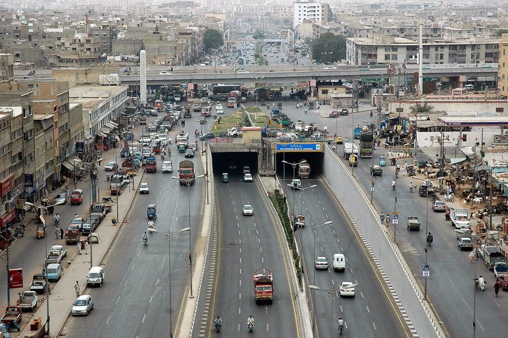Город Карачи