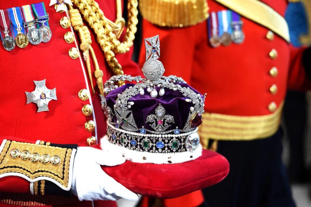 Корона Британской империи, созданная по образцу короны святого Эдуарда 1661 г.