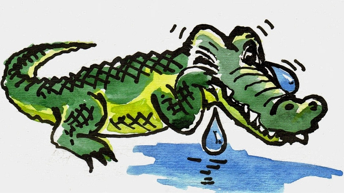 Почему слезы — крокодиловы?