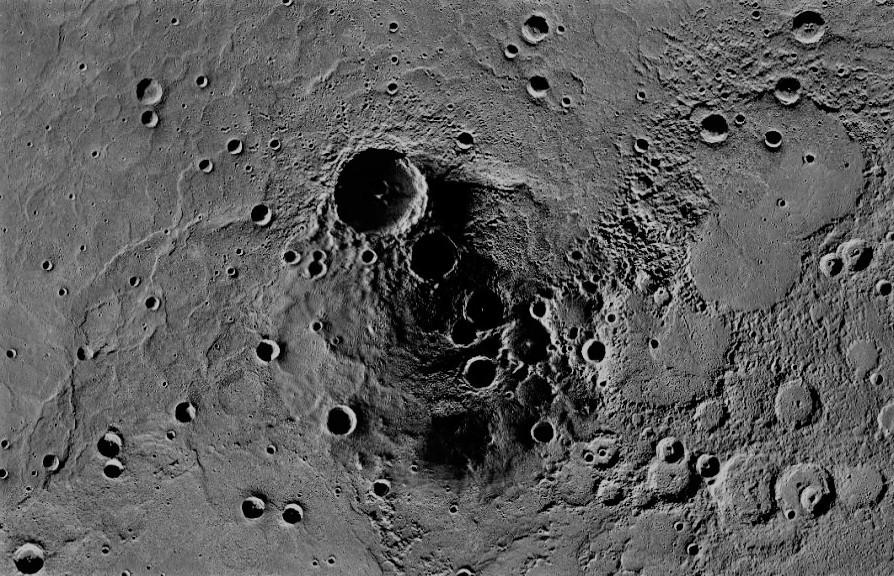 Кратеры Меркурия