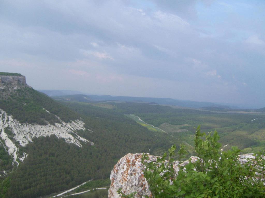 Крымские глыбово-складчатые горы