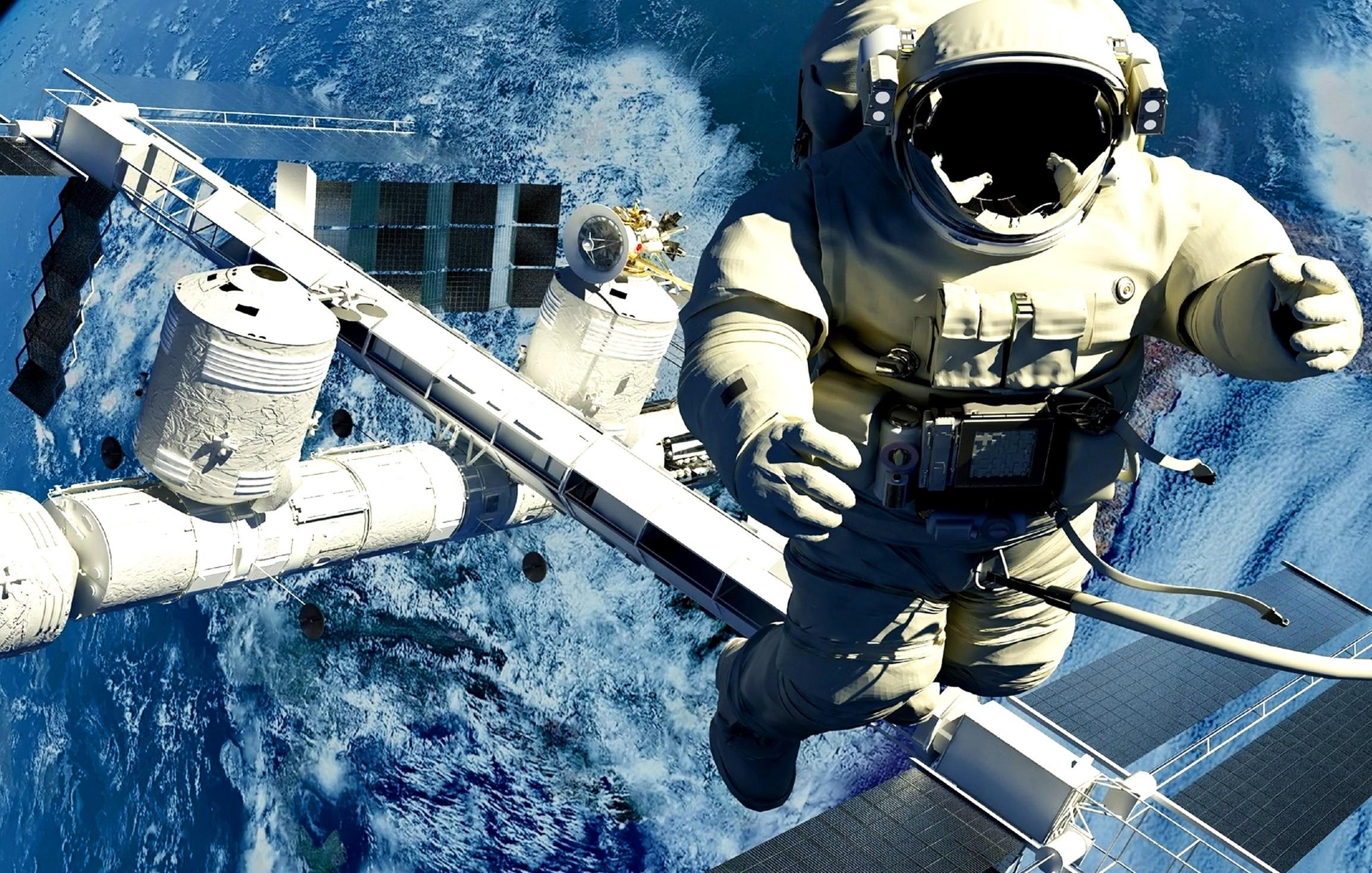 Может ли космонавт сам надеть скафандр?