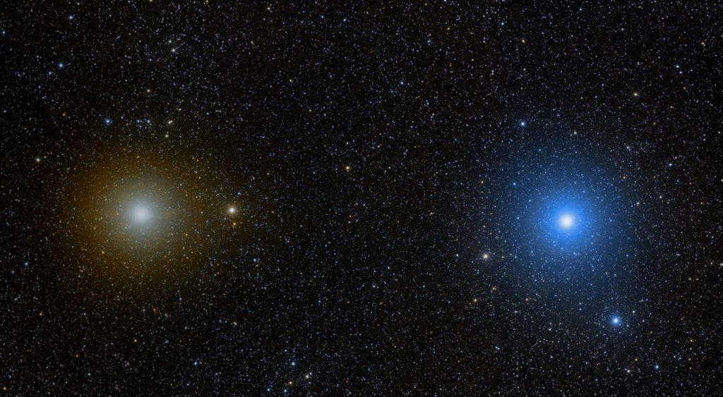 Кастор и Поллукс - звезды созвездия Близнецы