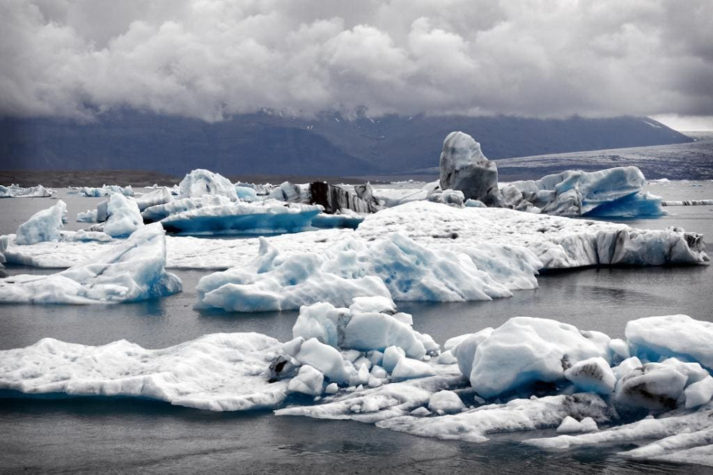 Тающий ледник