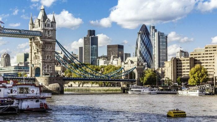 Лондон в наши дни