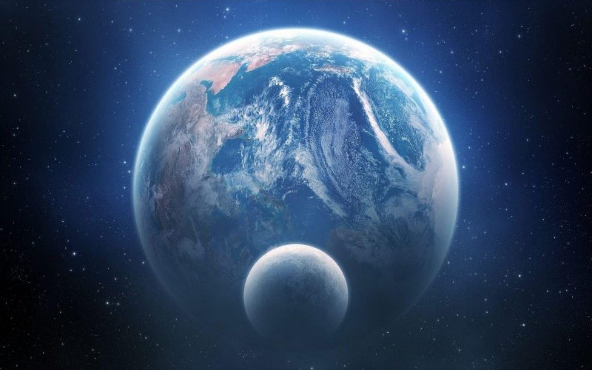 Луна и Земля - движение Луны