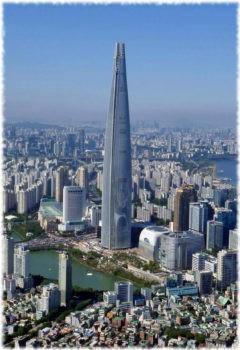 Lotte World Tower, Сеул, Южная Корея