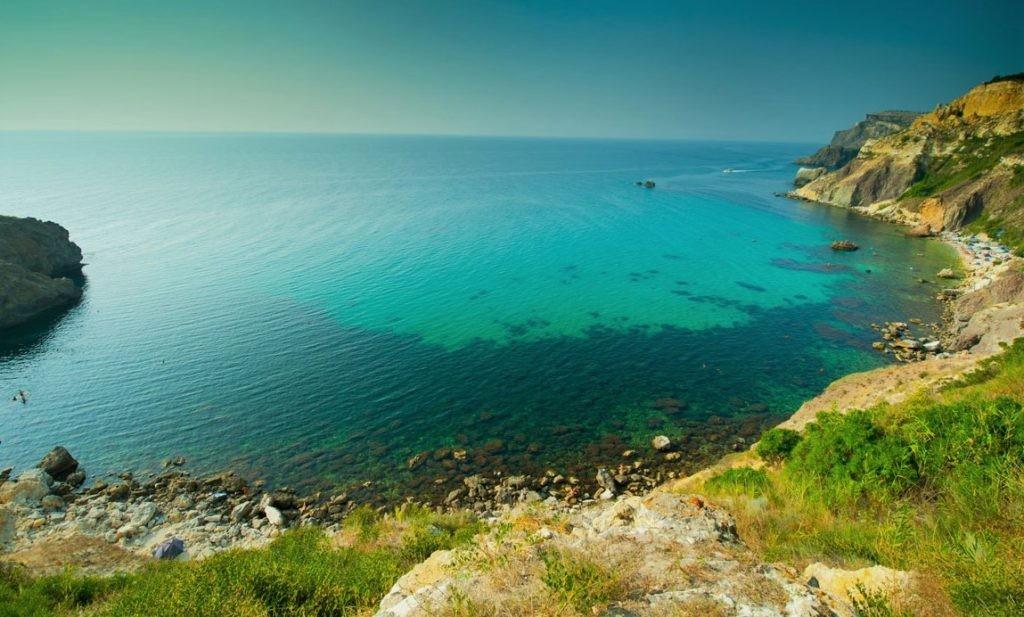 Фото Черного моря с берегов Крыма