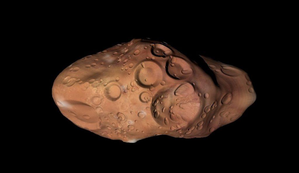 Альматея - спутник Юпитера