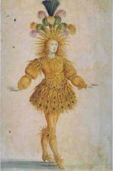 Людовик XIV в роли Аполлона в Балете ночи (1653)
