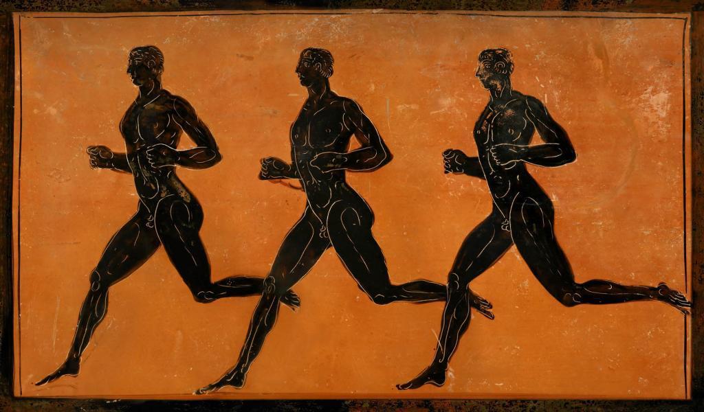 Древние марафонцы