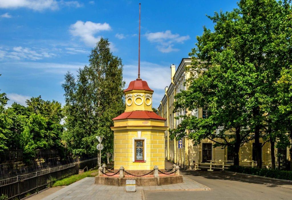 Здание мареографа кронштадтского футштока