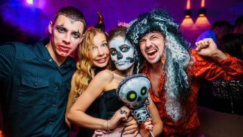 Современный хэллоуинский маскарад