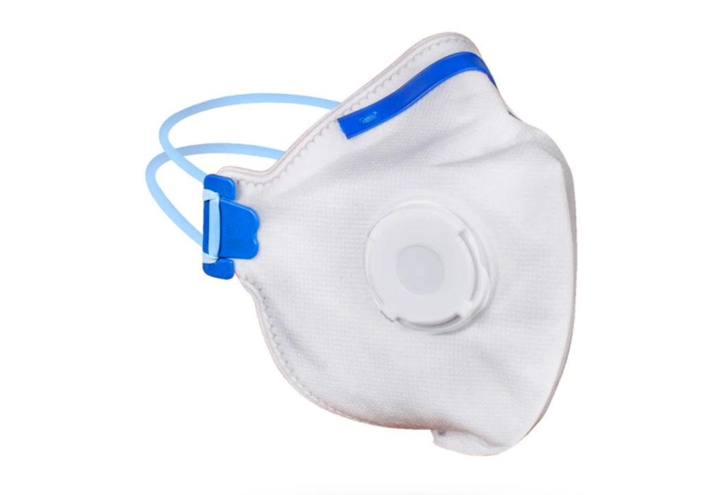 Респираторная одноразовая маска с клапаном