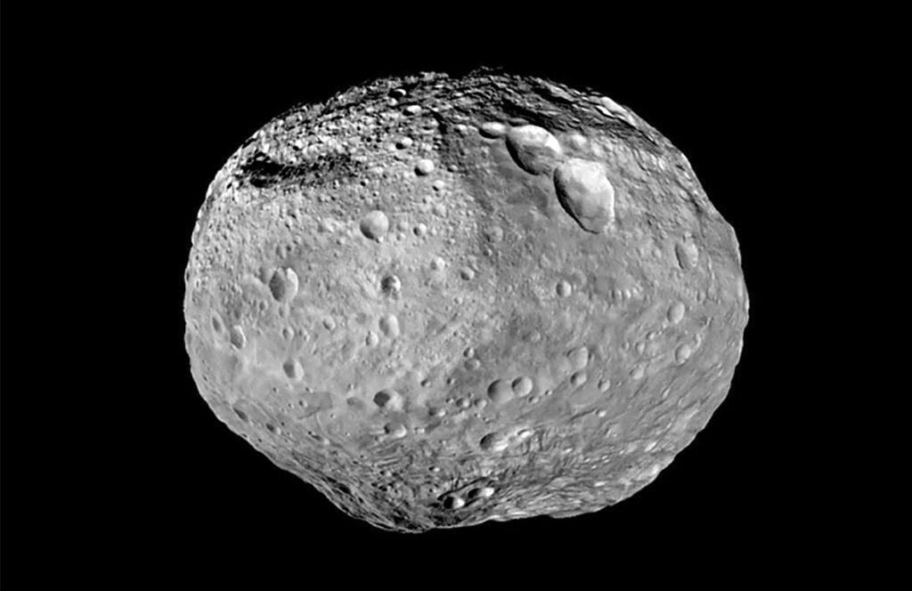 Пример внешнего вида сближающейся кометы