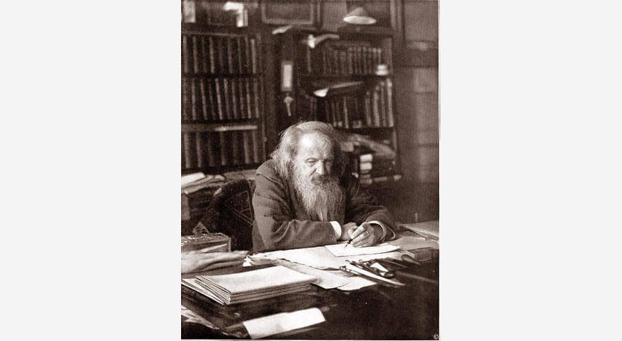Русский учёный Д. И. Менделеев открыл Периодический закон химических элементов в 1869 году
