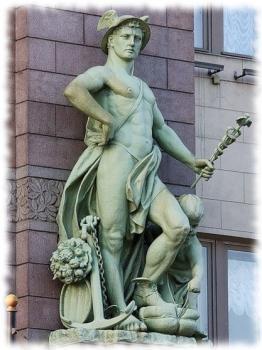 Меркурий (Mercurius, Mircurius, Mirquurius) — в древнеримской мифологии бог-покровитель торговли, прибыли и обогащения