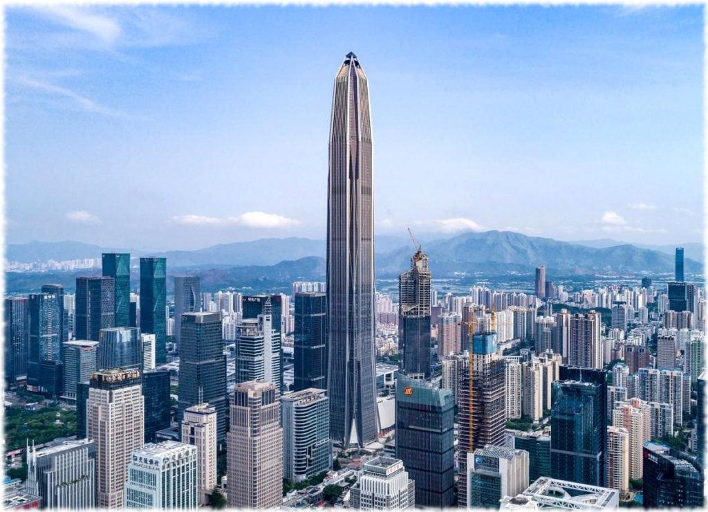 Международный финансовый центр Пинань (Ping An), Шеньчжень, Китай