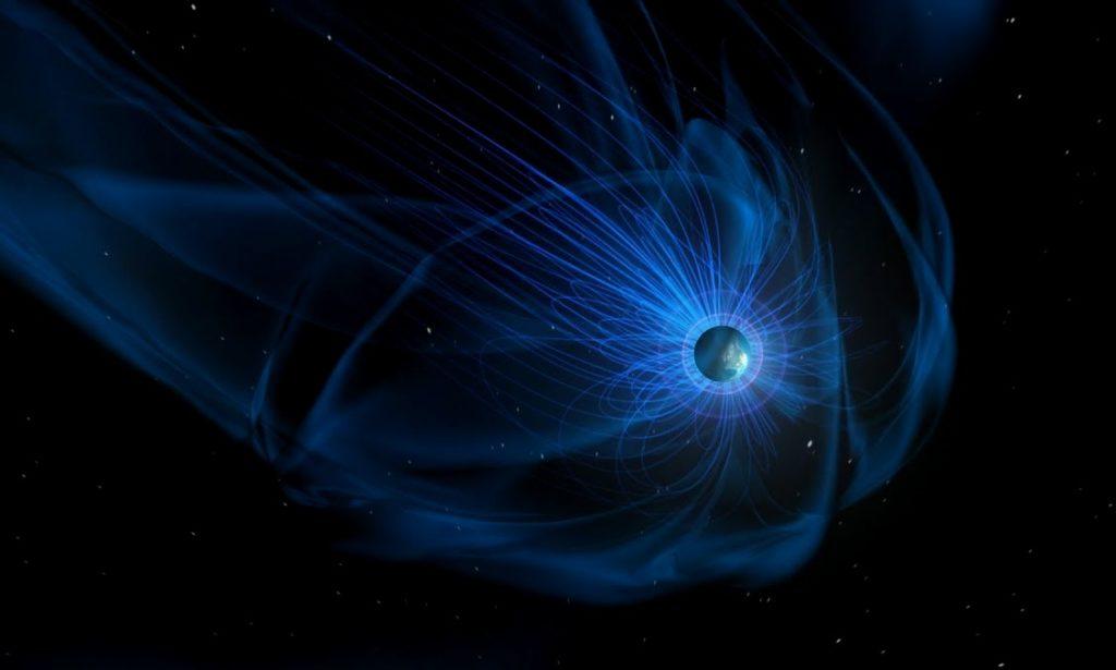 Изображение магнитосферы Нептуна