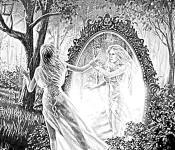 Двойники людей в зеркале