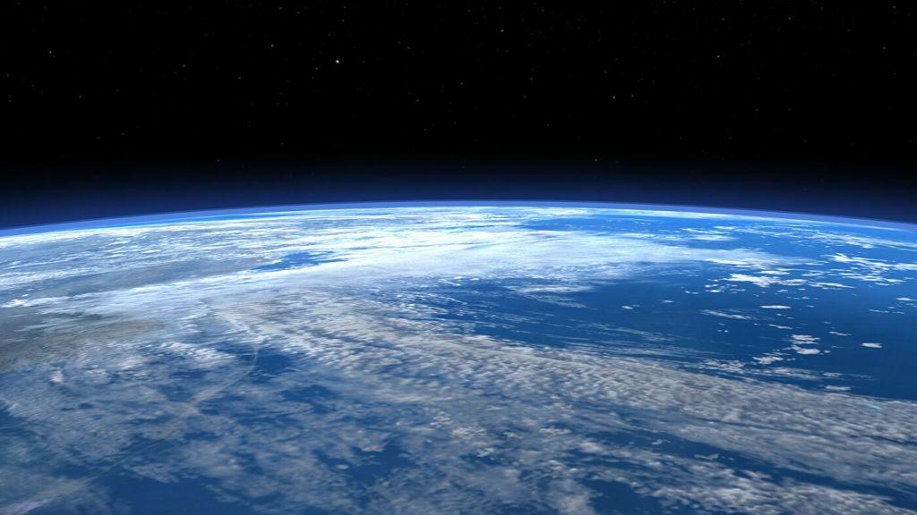 Фото межпланетной среды над Землей