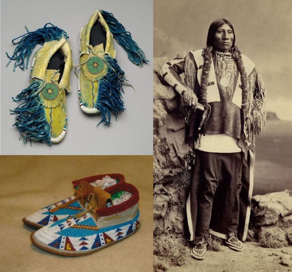 Мокасины индейцев