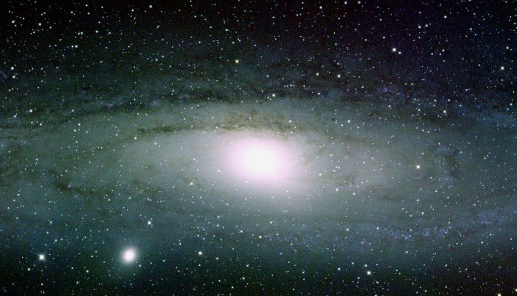 Изображение Млечного Пути с акцентом на центр