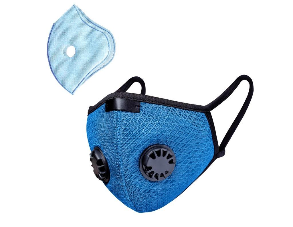 Респираторная многоразовая маска со сменным фильтром