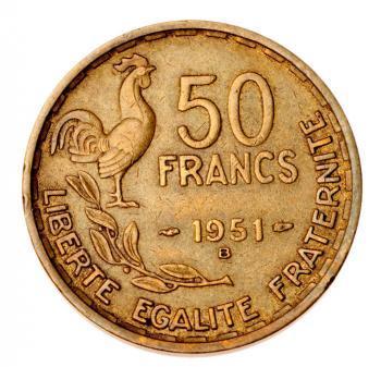 Монета с петухом